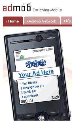 AdMob - Mobilna reklama