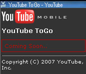 YouTube Mobile Demo