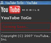 YouTube Mobile Demo